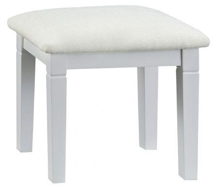 Stratford Grey Painted Stool